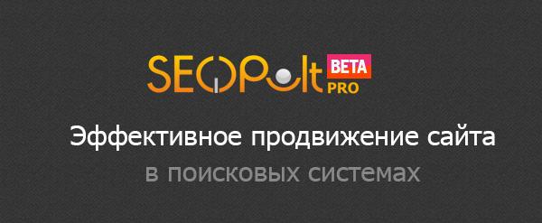 SeoPult.Pro - профессиональная система для ручной покупки ссылок на сайт