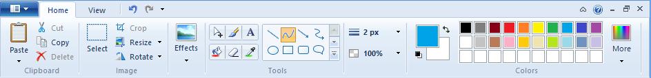 Инструменты легкого графического редктора